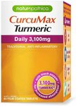 Naturopathica Curcumax Daily 3100mg 80s $12.10 + Delivery ($0 with Prime/ $39 Spend) @ Amazon AU