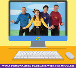 Win 1 of 10 Personalised Play-Dates with The Wiggles via Zoom from The Wiggles