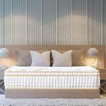 31cm Queen Mattress, Gel Infused Memory Foam Mattress w/ Pocket Coil + Euro Top Design $166 + Delivery @ BedStory Amazon AU