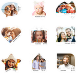 MyStamps Personalised Stamps $10 off Per Sheet of 20 ($25 - $113 Was $35 - $117) @ Australia Post