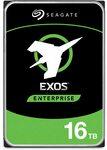 Seagate 16TB HDD Exos X16 7200 RPM 512e/4kn SATA 6GB/s 256MB $646.24 Plus Delivery @ Amazon US via Amazon AU
