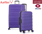 Antler Juno 2 - 2 Piece Hardcase Luggage/Suitcase Set Purple/Orange $149 + $10.95 Delivery ($0 with Club) @ Catch