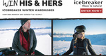 Win His & Hers Icebreaker Winter Wardrobes from Wild Earth