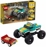 LEGO Creator 31101 3in1 Monster Truck $14.83 + Delivery ($0 with Prime/ $39 Spend) @ Amazon AU