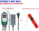 Inkbird 2400W ITC-308 Wi-Fi Digital Temperature Controller + BBQ Thermometer Pen $59.75 Delivered @ Inkbird eBay