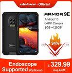 Ulefone Armor 9E + Cover, Android 10 Helio P90 8GB + 128GB 6600mAh US$362.99 (~A$487) @ Ulefone via AliExpress