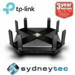 [eBay Plus] TP-Link Archer AX6000 $398.99, Vr600v $148.52, Mercusys Halo S12 Mesh Router 2 Pack $68.73 Shipped @ Sydneytec eBay