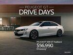 PEUGEOT 508 GT Fastback @ $56,990 Driveaway (RRP $62,414) and 508 GT Sportswagon $56,990 Driveaway (RRP $64,514)