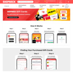 OzBargain Exclusive: $2 Bonus Cashback with Any Gift Card Purchase at ShopBack's Gift Card Portal (App Required)