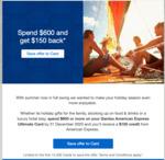 AmEx Statement Credit: Spend $600, Get $150 Back @ AmEx Qantas Ultimate