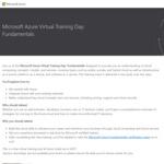 Free: Microsoft Azure Fundamentals AZ-900 Virtual Training + Free Voucher for Certification Exam @ Microsoft