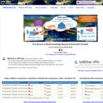 Free Public VPN Relay Servers (Hosted by Volunteers) @ VPN Gate