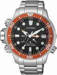 Citizen Aqualand Red Bezel Diver BN2039-59E $499 (RRP $1,199) Delivered @ StarBuy