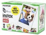 Fujifilm Instax Mini Film Sheets 60 Pack $45.12 Delivered @ Amazon AU