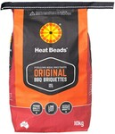Heat Beads BBQ Briquettes 10kg Bag $5 (Was $15) + Delivery (C&C/ in-Store) @ Big W