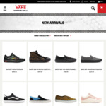 20% off Full Price Items @ Vans