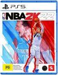 [Pre Order] NBA 2K22 $79 (PS5 / Xbox Series X), $69 (PS4 / Xbox One) Delivered @ Amazon AU