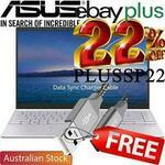"[eBay Plus] Asus Zenbook UM425IA 14"" 1080p Ryzen 7 4700U 8GB RAM 512GB SSD $1099 Delivered @ Shopping Express Clearance eBay"