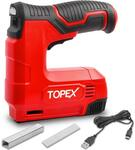 Topex 4V Lithium Cordless Staple Nail Gun w/ 1,000 Nails & 1,000 Staples $49 (Was $59.99) + Delivery ($0 to Most Areas) @ Topto