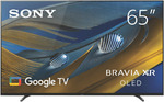 """Sony XR65A80J 65"""" A80J 4K BRAVIA XR OLED $3,225.75, 55"""" $2,375.75, 77"""" $5,995 + Delivery @ The Good Guys eBay"""