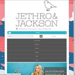 20% off Store Wide Jethro & Jackson