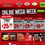 Pizza Hut Freebie with Purchase of Any Large Pizza