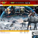 Star Wars Pop Up Books Only $12.99ea + FREE SHIPPING* Save 68% @ QBD