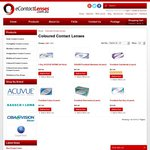 Sale - 15% off All Coloured Contact Lenses @ eContactLenses