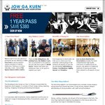 1 Year Free Pass to All Our Kung Fu Classes [VIC Only] - Jow Ga Kuen
