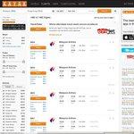Hong Kong/Bangkok Return Ex BNE $630/ $616, SYD $627/ $613 + MANY MORE w/Malaysian Airlines @ Kayak
