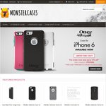 Monster Cases 15% off from RRP for Case Mate & Otterbox iPhone 6 Cases