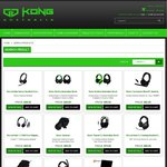 Razer/Roccat/Zowie Headphone & Gaming Keypad Specials with Free Shipping @ Kong Computers