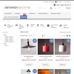20% - 50% off Cafe Lighting Industrial Pendants and Lights @ Beyond Bright