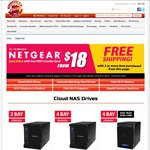 NetGear Sale @ ShoppingExpress, ReadyNAS 102 Diskless $109 & Others. Free Shipping with 2 Items