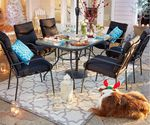 7 Piece Outdoor Set (6 Chairs + Table) $99 (Was $269) @ Kmart