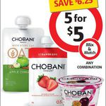 5x Chobani Yogurt Pouches, Yogurt Tubs, Oats Pouches $5 @ Coles (Save $6.25)