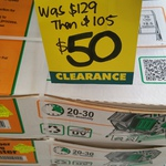 Dual (2x 70L) DF Omer Tumbling Garden Composter $50 @ Bunnings Mascot, NSW
