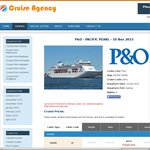 P&O - Sth Pacific Cruise - 9 Nights - $2044 (Interior - Quad) - $100 OBC + 50% Reduced Deposit via Cruise Agency
