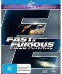 Fast & Furious - 7 Movie Collection Blu-Ray for $55.98 (+ $0.99 for Delivery) @ JB Hi-Fi
