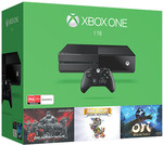 Xbox One 1TB Console & 3 Games HALO 5/Gears of War/Rare Replay $344.55 Delivered Target