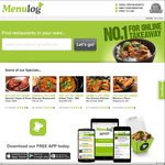 $10 off @ Menulog - Delivery Only