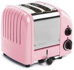 Dualit Petal Pink 2 Slice Toaster $179.20 Plus Postage - Peter's of Kensington eBay
