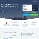 TransferWise: Money Transfer at Mid Market Exchange Rate