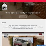 My Parcel Box- Get Your Online Shopping Delivered While You're Not Home $45 (Reduced from $270)