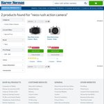 Neos Rush Action Cams $28, Assassins Creed Unity XB1 $8, Watch Dogs XB1 $8 @ Harvey Norman