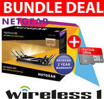 NetGear R8000 AC3200 Nighthawk X6 Router + SanDisk Ultra 64GB SD $268.00 Delivered @ Wireless1 eBay