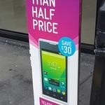 ZTE Telstra Tempo T815 Prepaid Phone $29 @ Caltex