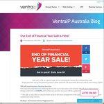 VentraIP EoFY Sale - 70% off Business Hosting (1st Invoice), $3/Month Economy Saver Hosting, $9.95/Year .BIZ Domain