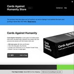 Cards Against Humanity Red Box (Expansions 1-3) and Blue Box (Expansions 4-6) $28 Each