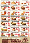 Hungry Jack's Vouchers [e.g. 2 x Small Onion Rings $1.95, Chicken Fries + Sml Fries $5) (November to January)